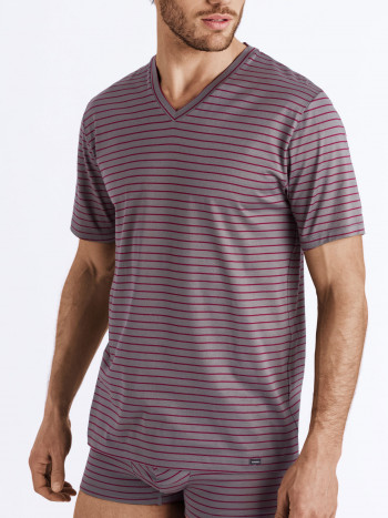 SHIRT SPORTY STRIPE COTTON