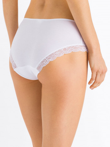 MIDI-SLIP COTTON LACE