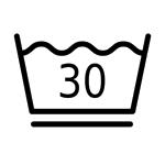 Schonend waschen 30