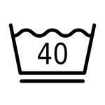 Schonend waschen 40